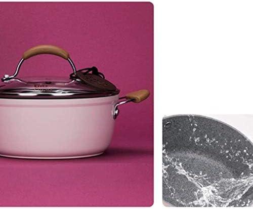 YWSZJ Stone Soup Pot, grande capacité Casserole Cuisinière Accueil Cuisinière à induction Cuisinière à gaz Cocotte