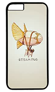 Funny Steam Blimp Thanksgiving Halloween Masterpiece Limited Design PC Black Case for iphone 6 by Cases & Mousepads
