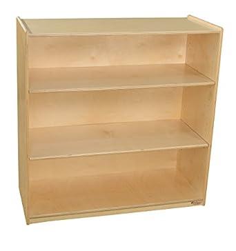 Wood Designs WD12936AJ Bookshelf With Adjustable Shelves