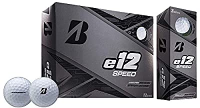 Bridgestone E12 Speed Golf Balls #1-#4 12-Ball Pack