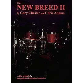 """Picture of the cover of the drum book """"The New Breed 2"""" by Gary Chester and Chris Adams"""