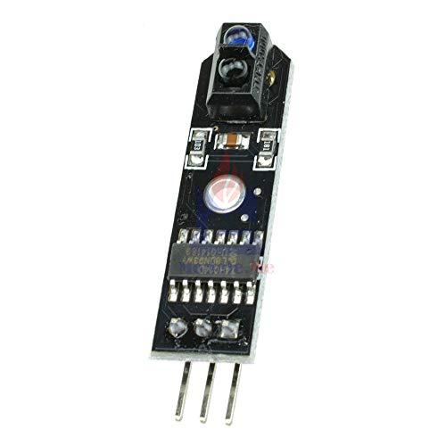 10 ピース IR 赤外線ライントラック TCRT5000 障害物 Avoidanc Arduino の Avr Arm 用 PIC DC 5 ボルトトラックセンサー
