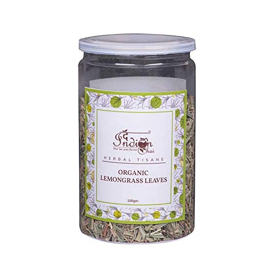 The Indian Chai - Organic Lemongrass Leaves 100g
