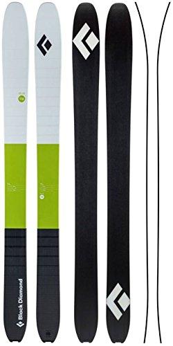 Black Diamond Helio 116 Carbon Ski Grass Green 176 - Core Telemark Skis