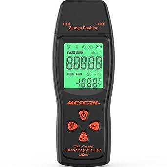 Ghost hutning Digital pantalla LCD EMF Medidor Detector Campo electromagnético radiación UK: Amazon.es: Industria, empresas y ciencia