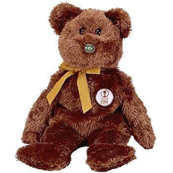 Amazon.com  TY Beanie Baby - CHAMPION the FIFA Bear ( Brazil )  Toys ... e3ffd194235