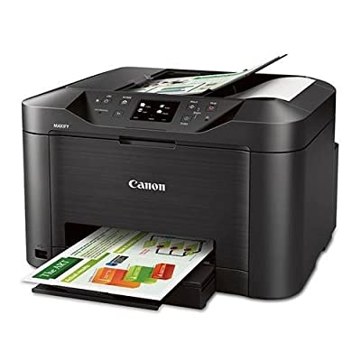Canon MAXIFY MB5020 Wireless Home Office All-in-One Printer, 23ipm (Black)/15ipm (Color), 600x1200dpi, 250 Sheet Tray, USB/Ethernet - Print, Copy, Scan, Fax