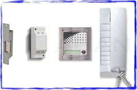 TC312- FARFISA MATRIX & EXHITO VANDAL RESISTANT 1 WAY AUDIO DOOR ENTRY INTERCOM SYSTEM