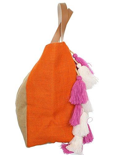 Bolso Unique De Mujer Beige Para Lollipops Asas Taille 4Pwx05Fd