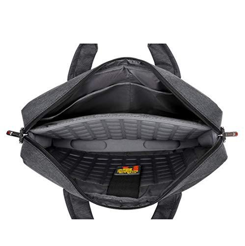 Hombre Bandoleras Para Handbag Negocio Capacidad Funda Laptop Layxi XIwZAU8X