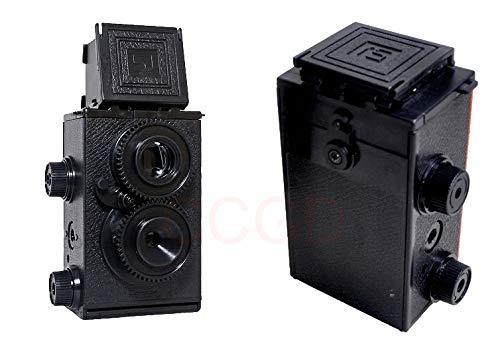 FidgetGear Recesky 35 mm Doble Lente Reflex TLR Holga Lomo cámara ...