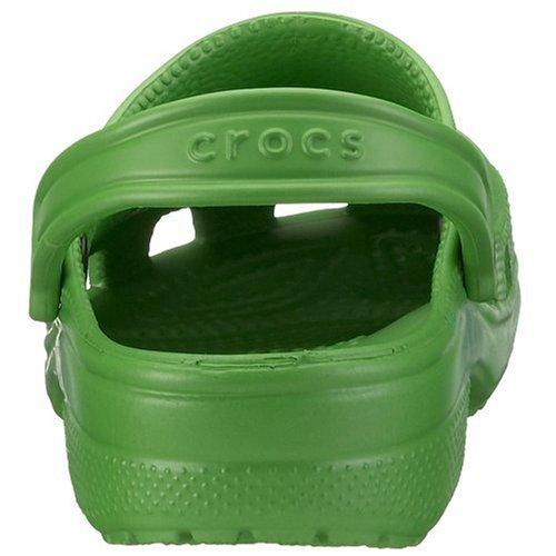 crocs Classic 10001, Unisex - Erwachsene, Clogs & Pantoletten, Grün (Lime), EU 41/42 (US M8/W10)