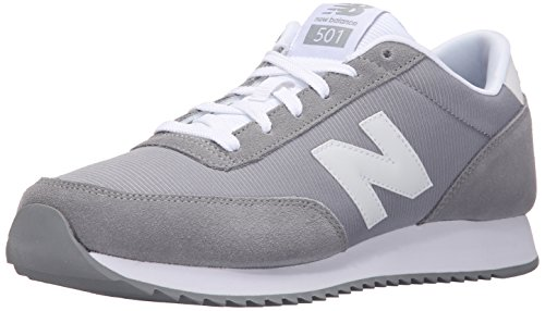 New Balance Men's MZ501V1 90's Normcore Running Shoe, Grey/White, 8.5 D US