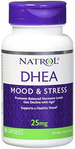 Natrol DHEA 25mg Capsules, 90-Count