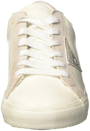 GUESS Vega, Zapatillas de Tenis Para Mujer Bianco
