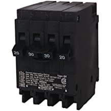 Siemens Q22030CT 30-Amp Double Pole Two 20-Amp Single Pole Circuit Breaker