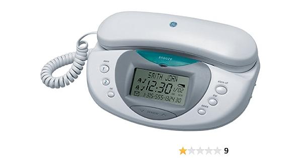 Amazon Com Ge 29291 Bedroom Clock Radio Phone Electronics