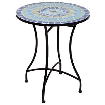 Amazon.de: Mosaiktisch 70x60 cm - Gartentisch Beistelltisch ...