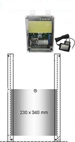 JOSTechnik Portier Automatique De Poulailler Avec Bloc D - Porte automatique poulailler solaire