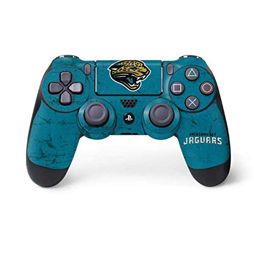 NFL Jacksonville Jaguars Distressed Skin for Sony PlayStation 4/ PS4 Dual Shock4 Controller