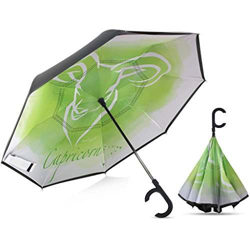 (Broni Large Inverted Auto Umbrella | Capricorn)