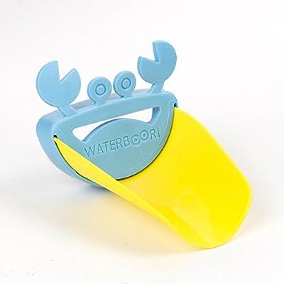 Foyou Sink Handle Faucet Extender + 2 Pcs Set Finger Guard Door Stopper for Babies, Toddlers and Kids