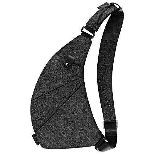Sling Bag Crossbody Chest Shoulder Anti Theft Travel Bag for Men Women Boys Waterproof