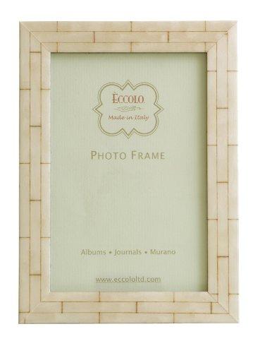 Inlaid Bone (Eccolo Wall Bone Wood Frame, 8 by)