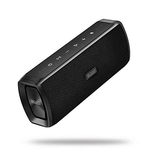 Bluetooth Speakers SCIJOY Portable Wireless Speaker IPX6 Waterproof Speaker 16W