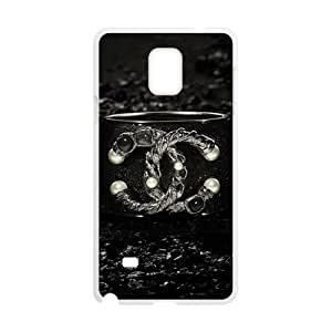 Hope-Store Famous brand logo Chanel design fashion cell phone case for samsung galaxy note4
