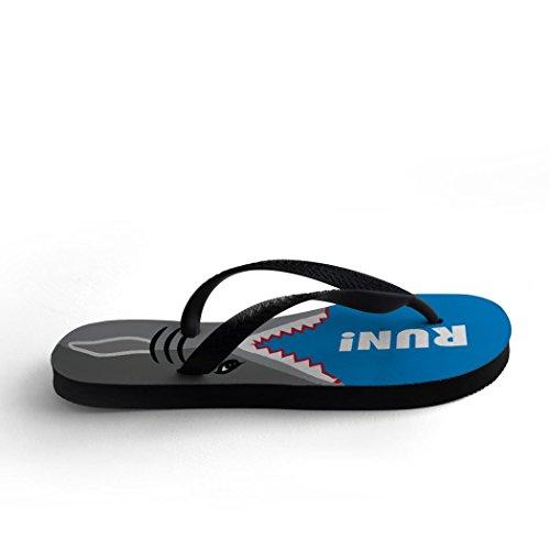 Rinnande Flip Flops Haj Attack