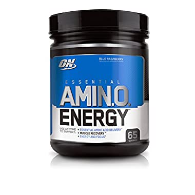 Optimum Nutrition Amino Energy, Blue Raspberry, 65 Servings