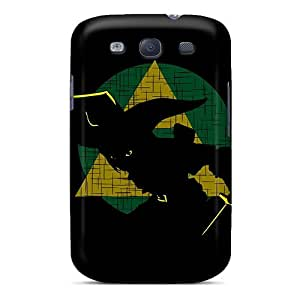 For Galaxy S3 Premium Tpu Case Cover Link Zelda Illustration Protective Case