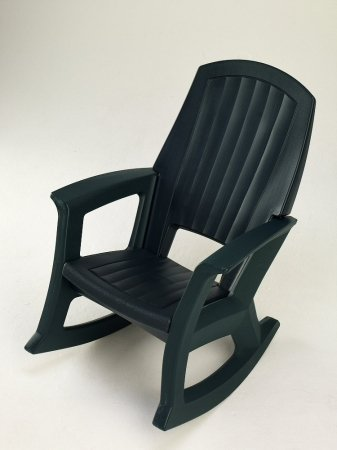 hunter green outdoor rocking chair 600lb capacity