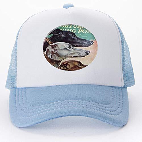 - New Vintage Greyhound Necklace Dog Pendant Glass Photo Pendant Baseball caps Golf Caps hat
