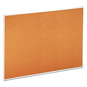 Universal Products - Universal - Universal Bulletin Board, Natural Cork, 48 x 36, Satin