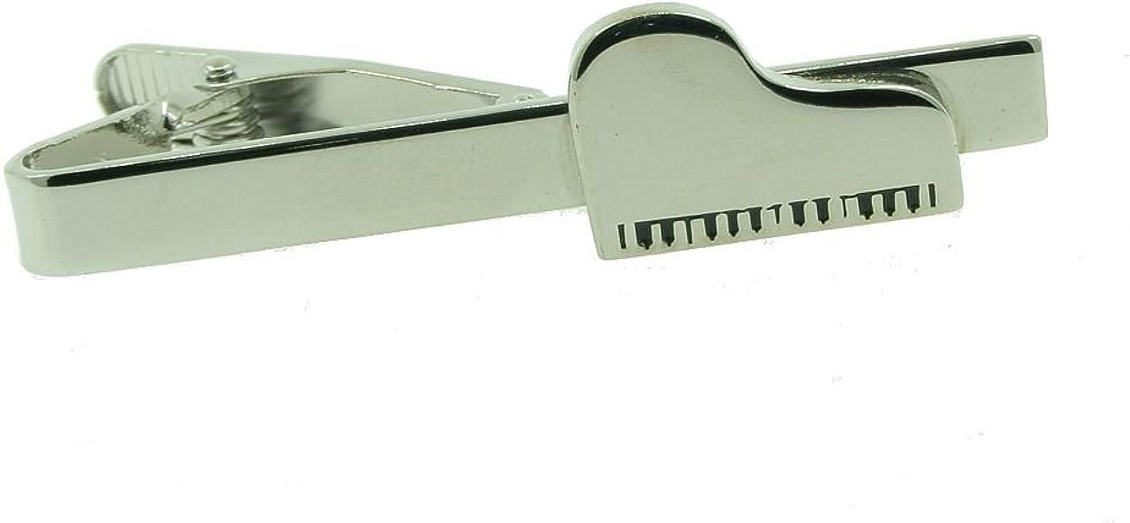 ASPG Pinza para corbata con diseño de piano de salón: Amazon.es ...