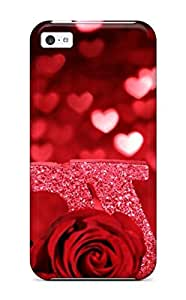 Iphone 5/5s Pretty Love Print High Quality Tpu Gel Frame Case Cover