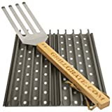 "Set of Two 13.75"" GrillGrates (interlocking)+Grate Tool"
