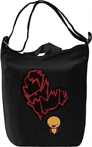 Little Bird With Big Heart Borsa Giornaliera Canvas Canvas Day Bag| 100% Premium Cotton Canvas| DTG Printing|