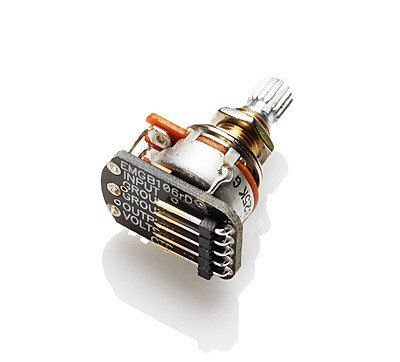 EMG, EMG-25K ACTIVE TONE, Strat sized active tone replacement potentiometer