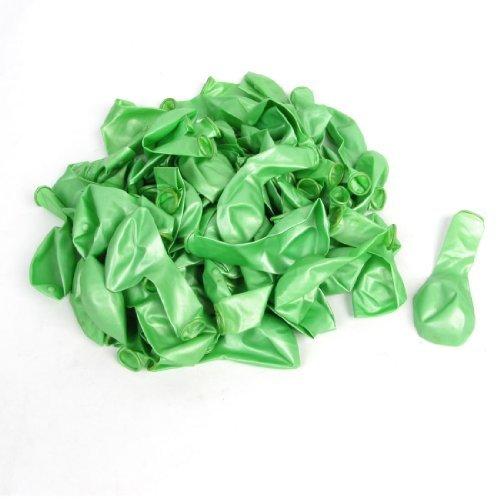 eDealMax Latex Ballons de fte d'anniversaire de Nol dcoratif 100 Pcs vert