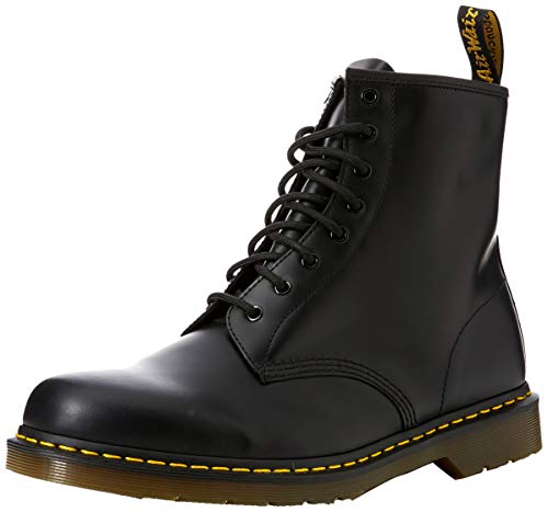 Nero Unisex 1460 Brogue Martens Scarpe Milled Stringate Dr 59 Smooth Black – 1460 Smooth Adulto Last Basse PR8xCq