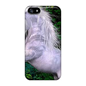 Durable Case For The Iphone 5/5s- Eco-friendly Retail Packaging(silky Unicorn)