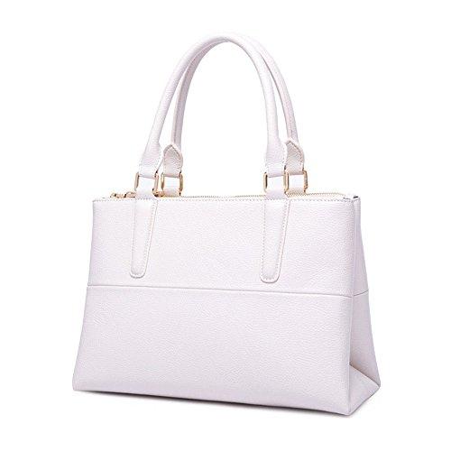 Señoras Blanco Moda Nueva Bolso GWQGZ White wEUzx8xT