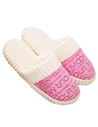 Susenstone®Women Ladies Home Floor Soft Slippers Female Cotton-padded Shoes