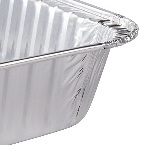 Durable Packaging Disposable Aluminum Cake/Baking Pan, 13'' x 9'' (Pack of 250) by Durable Packaging (Image #3)