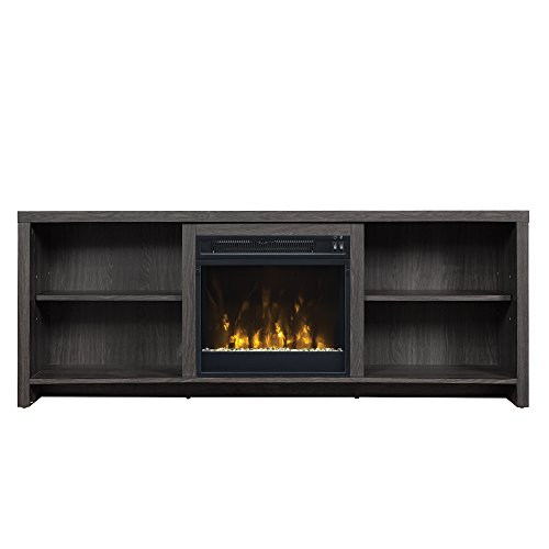 65 inch tv stand fireplace - 1