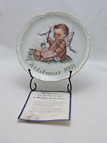 (Schmid Inspired by Hummel Porcelain Plate 7.5