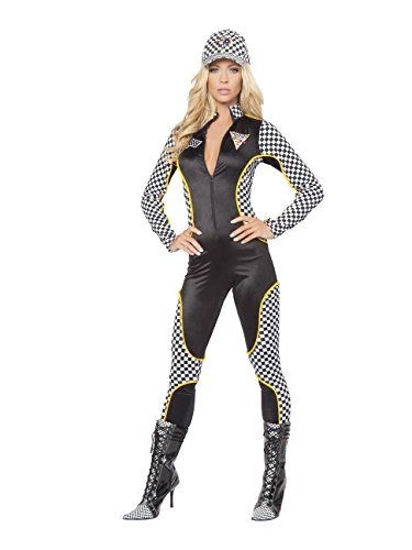 Roma Costume 14-4315-AS-M-L 1 Piece Wanna Race -